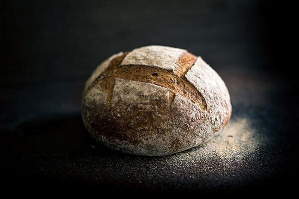 Freshly baked sourdough bread by Lawleys Bakery Cafe